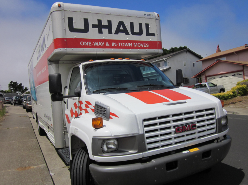 advice for driving moving truck